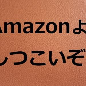 「Amazon」 ょ ! しつっこ過ぎるぞ !