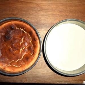 外出自粛なので「チーズケーキ」を作りました ♪