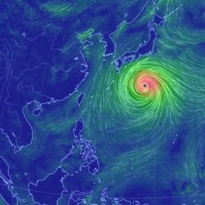 台風19号の成長速度、地球史上最大級?世界各国も注目!気象専門家「存在しないカテゴリー6に相当」
