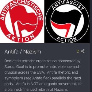 ミネアポリスの人種差別抗議行動は自作自演暴動、アメリカは「ANTIFA」をテロ組織に指定!