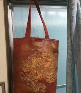 帯から着物用バッグを作ってもらいました