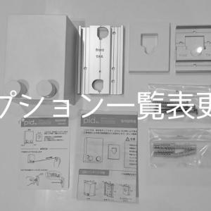 【一条工務店i-smartオプション一覧表更新】室内物干しワイヤー「pid4M」追加