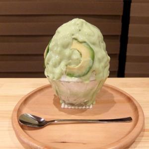 アボカドミルク氷/カフェサブヒロ伏見店(伏見)