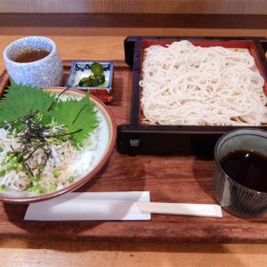 釜揚げしらす丼とざる蕎麦/めん処 鶴亀(大治町)