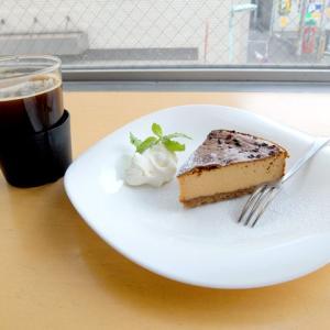 キャラメルチーズケーキとアメリカーノ/ヌーク&クラニー(国際センター)