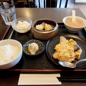 日替りランチ(海老と玉子の炒め)/香港飲茶 広東料理 航天(清須市)