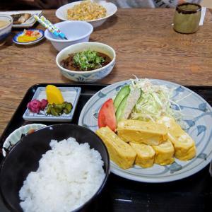 玉子焼定食とか/鈴家食堂(愛西市)
