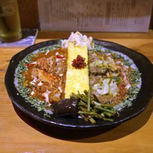 酢豚風アボカドとポークのカレーとか/スパイスカレー Kanata(東別院)
