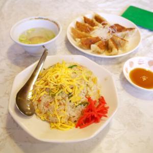 チャーハンと餃子/夜来香(中区栄)