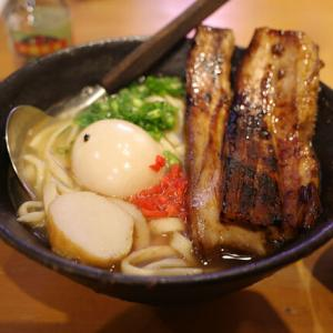 三枚肉そば/うちなー食堂 ブタ野郎チキン野郎 沖縄バカヤロー(金山)