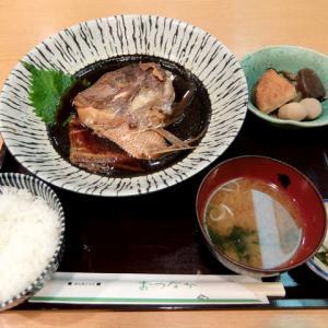 鯛かぶと煮定食/味のあとりえ まつなが(名古屋駅)