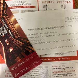 三菱商事から端株優待(隠れ優待)