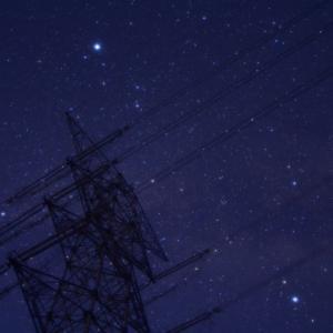 深夜の星撮り