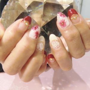 【ハンドジェル】お気に入りデザイン☆安芸区トータルビューティーサロンTiary