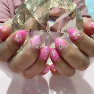 【ハンドジェル】桜が綺麗なこの季節に☆安芸区トータルビューティーサロンTiary
