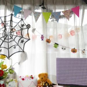 ハロウィンの飾り@水呑教室