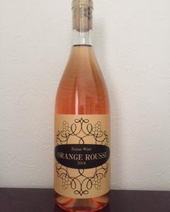 塩山洋酒醸造 ORANGE ROUSSI 2018