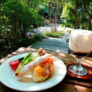 『カフェ・ド・珈茅』(Cafe de Kochi)でモーニング@長野県小布施