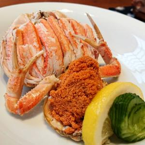 『旬食彩酒 とのまち』で、昼から超ウマ「香箱蟹」をいただく!@金沢