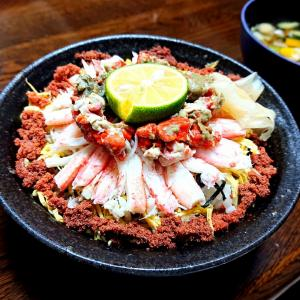 年に一度の楽しみ‼️『寿司吉』の「至福の香箱丼」@珠洲市