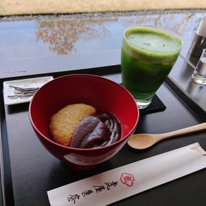 お気に入り「とらや 京都一条店」の和カフェ『虎屋菓寮』@京都