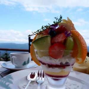 赤倉観光ホテル『テラスカフェ』で優雅なカフェタイム@新潟県妙高市