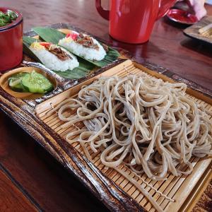 幻の蕎麦「富倉そば」を『かじか亭』でいただく@長野県飯山市