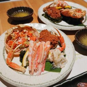 『金澤玉寿司』で季節のお寿司と香箱蟹@金沢