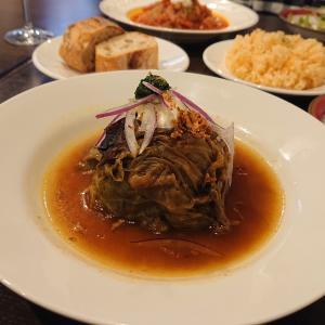 『ビストロ パザパ』で、ジョージア料理のランチ@金沢