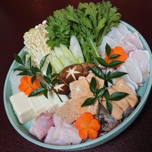 『酒肴 まつうら』で、冬の味覚「あんこう鍋」@珠洲市