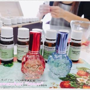 アロマ香水作り*福島県からご来店*いくつになっても仲良しっていいですね(^▽^)/