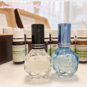 アロマ香水作り!結婚記念日にご夫婦でご来店!頭痛・不整脈・気圧の変化に薬で対応・・・ご感想は。