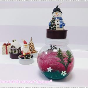 保冷剤を使っての消臭ジェルポット作り!色鮮やかにクリスマスバージョンで*クローゼットの消臭に