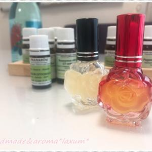 アロマ香水作り!20代の女子達・就活生なのに、コロナウィルスの影響で、不安しかない!