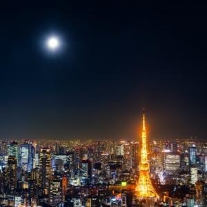 満月の時は寝れない?そういえば、新月の時も寝れなかったっけ、、、月の満ち欠けに関係する?
