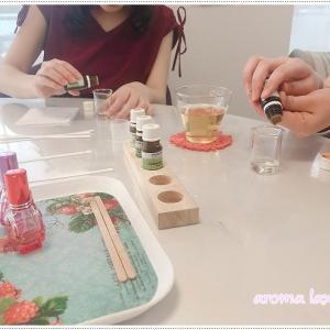 アロマ香水作り!半年前から寝れなくなりエバミールを服用。アロマだけでなく健康も話も