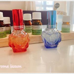 アロマ香水作り!年の差カップル・見た目は元気で悩みがないように見えるけど、選んだ香りは・・・