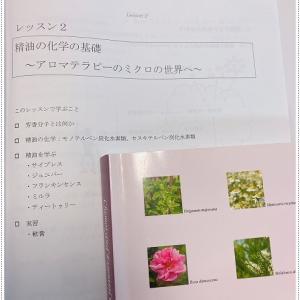 ナードアロマアドバイザー資格取得講座・レッスン②精油の化学~ メディカルアロマ