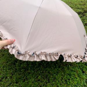マスクしてても涼しくなる日傘