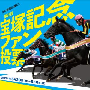 宝塚記念ファン投票用紙が2021年の結末を暗示する!?人気の牝馬と第3の馬