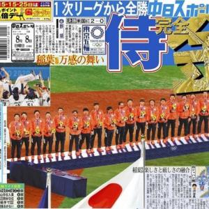 東京2020オリンピック有終の五輪馬券は野球悲願の金メダル
