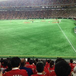 打線機能せず惨敗・・巨人5―1広島●(東京ドーム)