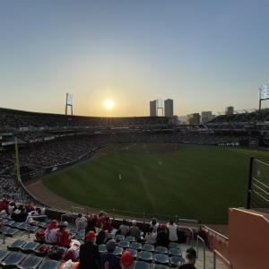 あと一点が遠い引き分け・・広島1―1ヤクルト△(マツダスタジアム)