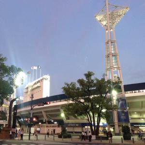 台風一過、2位浮上!DeNA2―4広島⚪(横浜スタジアム)