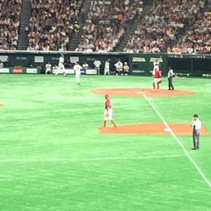 完封勝ちで巨人戦勝ち越し!巨人0―2広島⚪(東京ドーム)