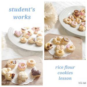 美味しいから習ってきたら?こんなに簡単なんて♡米粉ドーナツクッキーレッスン