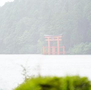 箱根神社・神奈川県「ララ6才ミク3才お誕生日旅行」⑩