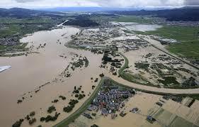 最上川の氾濫