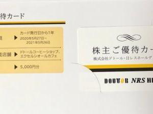 ドトール・日レスHD バリューブラックカード