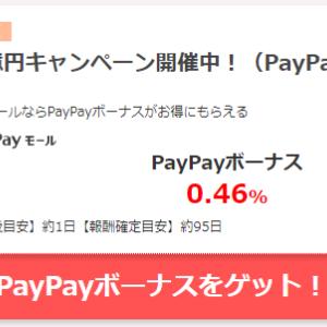 PayPayモールの案件を掲載しているサイトがありました!! これでお買い物が更にお得に!!